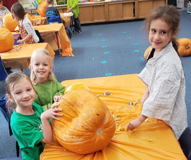 Girls Pumpkins small